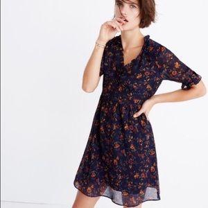 Madewell Freesia Floral Dress NWT